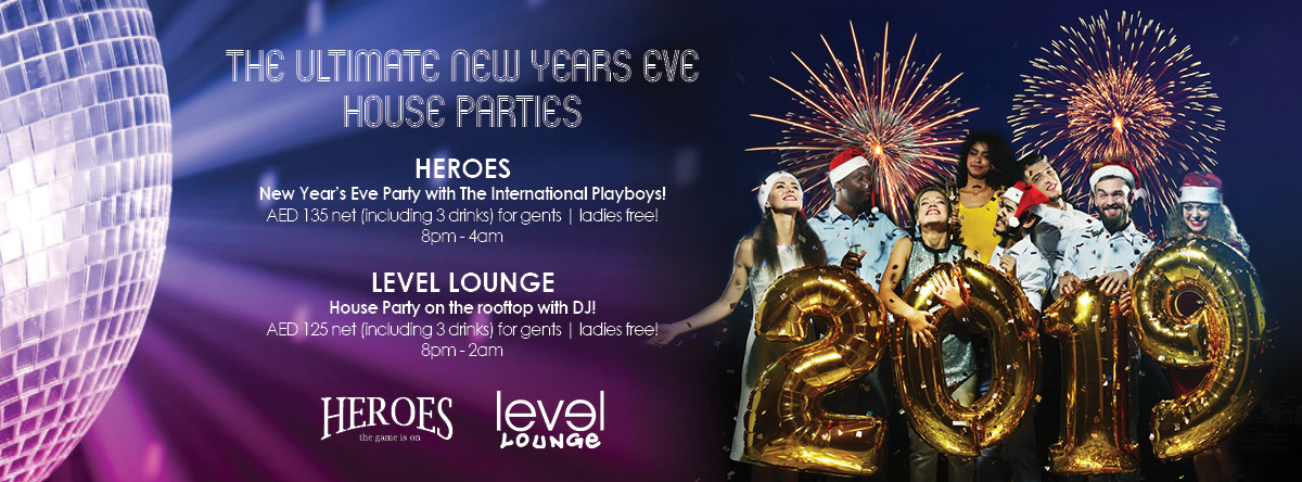 New Year's Eve @ Crowne Plaza