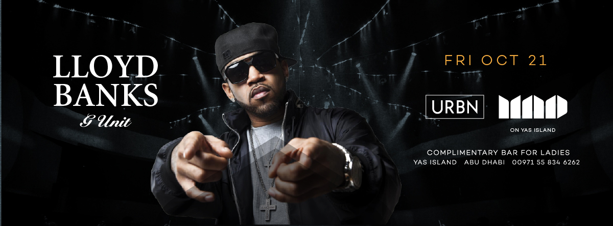 URBN presents Lloyd Banks live at MAD on Yas Island
